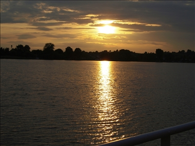 Sonnenuntergang Havel